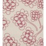 Chinese Flower Design - Detail in nostalgic pink on pale grey