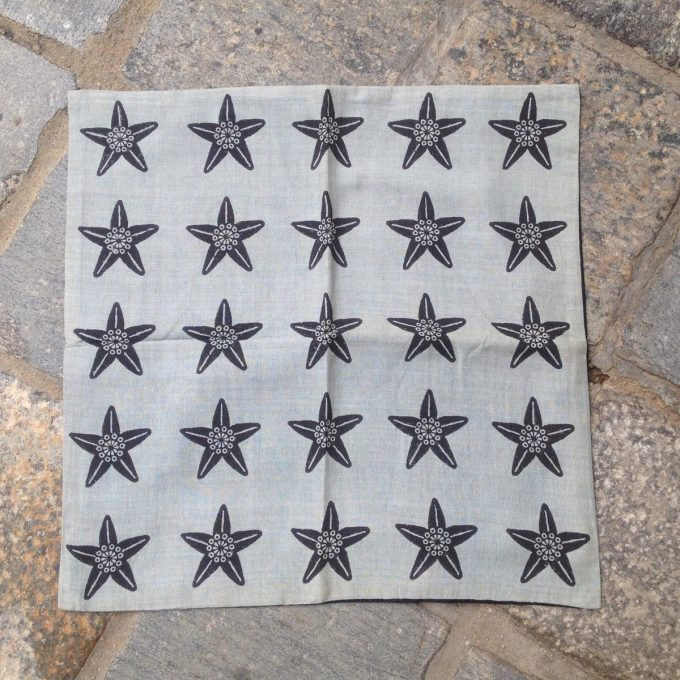 POS 0013 C Star Flower Grey