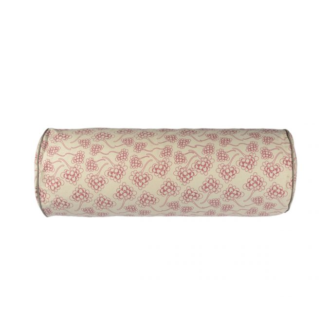 Tallentire House Bolster Chinese Flower Nostalgic Pink