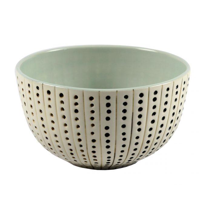 Tallentire House Bowl Urchin White Duck Egg