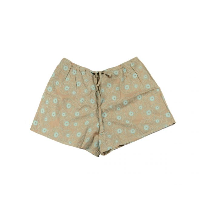 Tallentire House Cami Shorts Korean Flower Dusty Pink Barely Blue