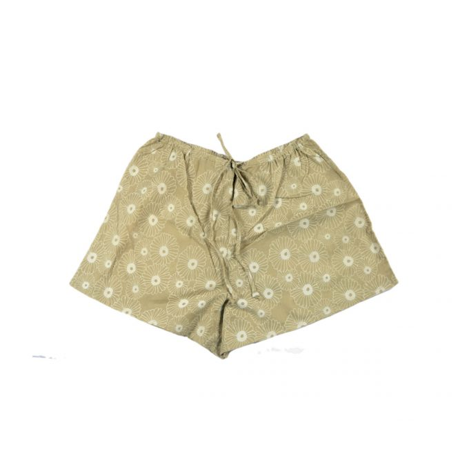 Tallentire House Cami Shorts Korean Flower Sea Green Chalk