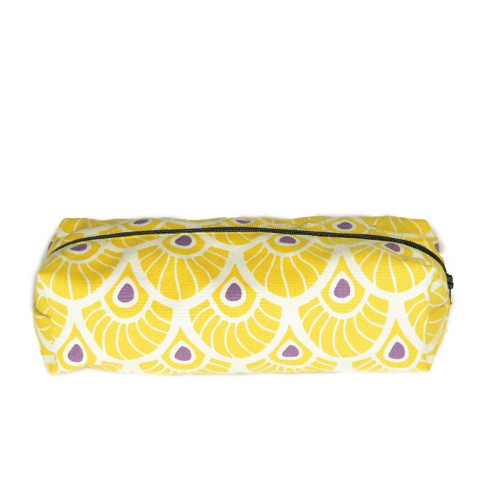 Tallentire House Cosmetics Purse Feather Oil Yellow