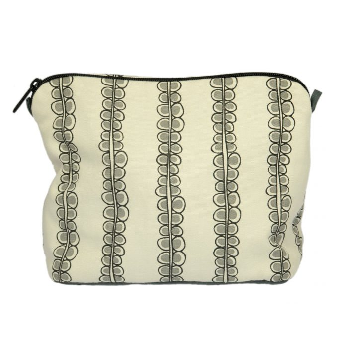 Tallentire House Cosmetics Purse Large Seed Stretch Limo