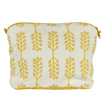 Tallentire House Cosmetics Purse Large Stem Cameo Rose Oil Yellow