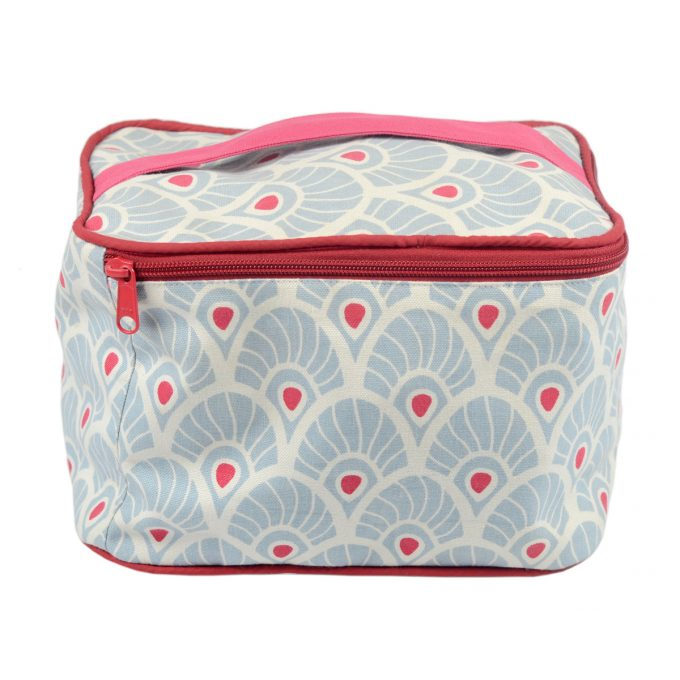 Tallentire House Cosmetics Purse Vanity Feather Forget Me Knot