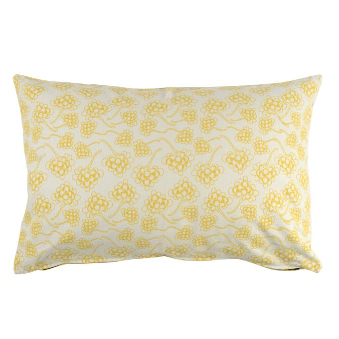 Tallentire House Cushion 60x40 Chinese Flower Celery