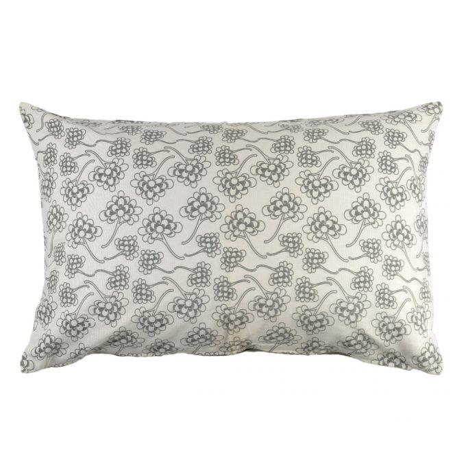 Tallentire House Cushion 60x40 Chinese Flower Wild Dove