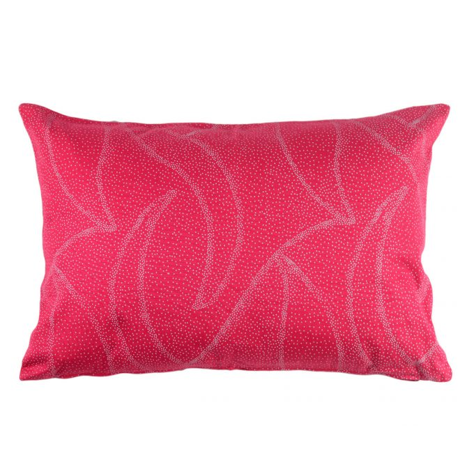 Tallentire House Cushion 60x40 Dots Bright Rose
