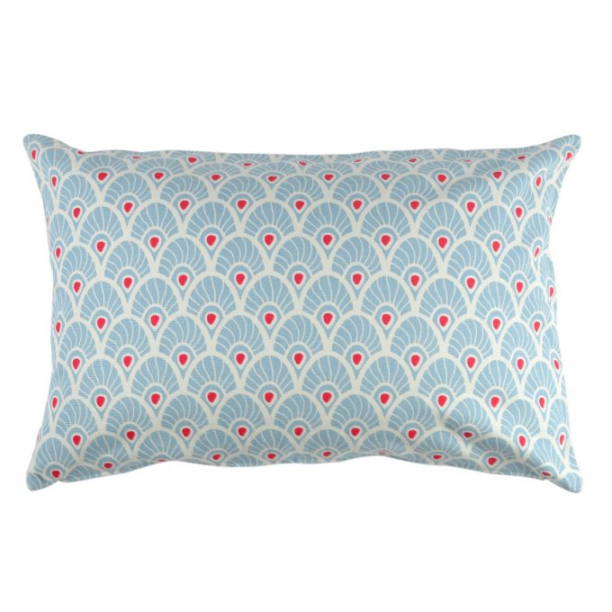 Tallentire House Cushion 60x40 Feather Forget Me Knot