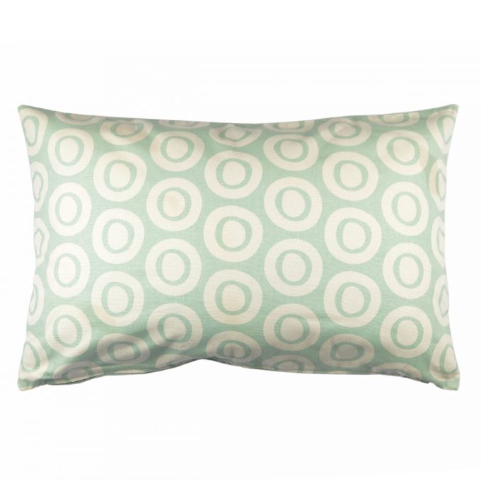 Tallentire House Cushion 60x40 Plain Circle Surfspray