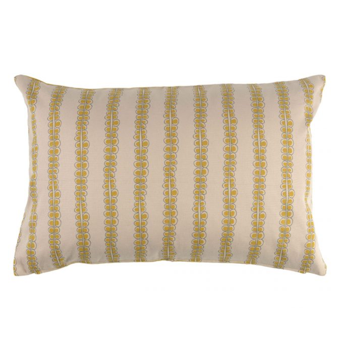 Tallentire House Cushion 60x40 Seed Oil Yellow