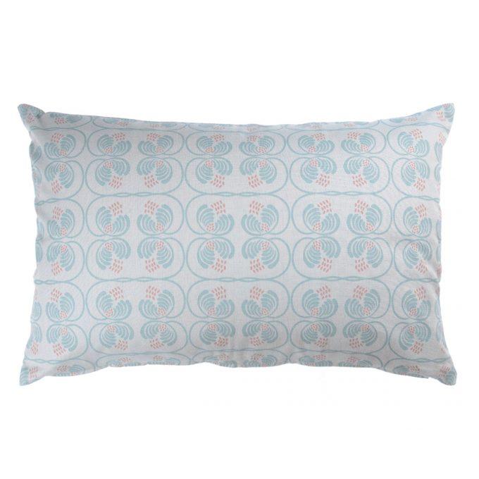 Tallentire House Cushion 60x40 Wisteria Blue Surf Slate