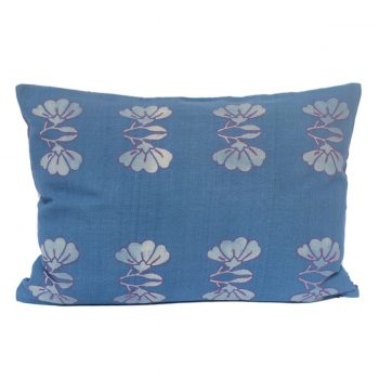 Tallentire House Cushion Silk Lotus Blue