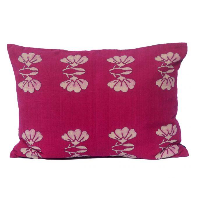 Tallentire House Cushion Silk Lotus Pink