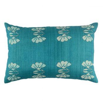 Tallentire House Cushion Silk Lotus Teal