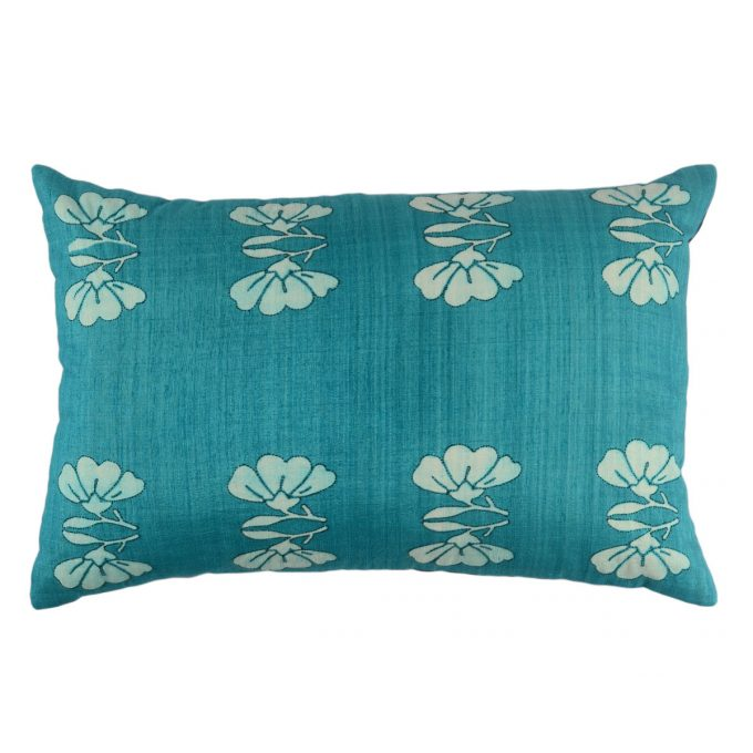 Tallentire House Cushion Silk Lotus Teal