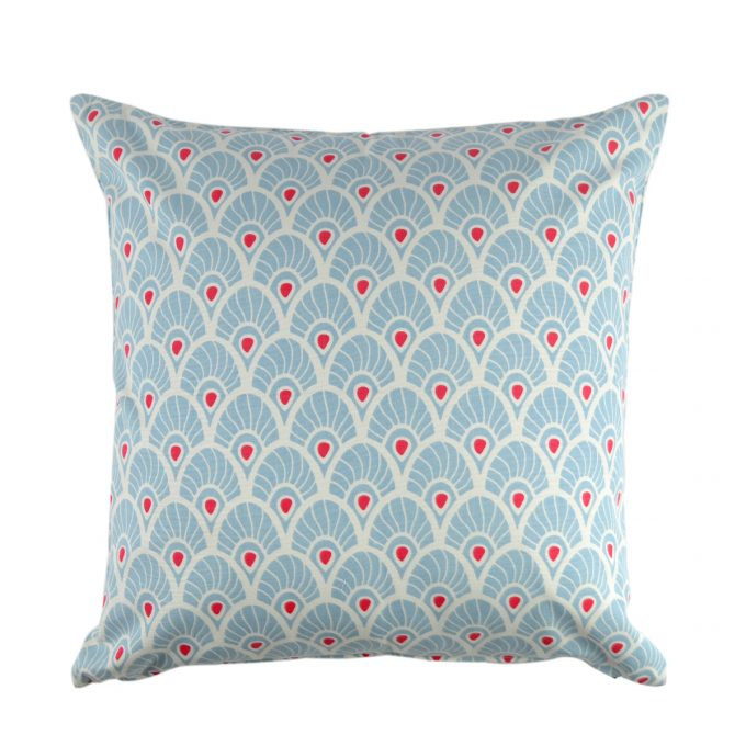 Tallentire House Cushion Square Feather Forget Me Knot
