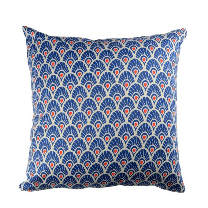 Tallentire House Cushion Square Feather Surf the Web Tiger Lilly