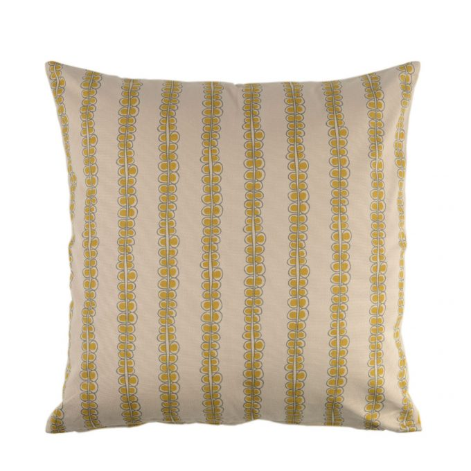 Tallentire House Cushion Square Seed Oil Yellow