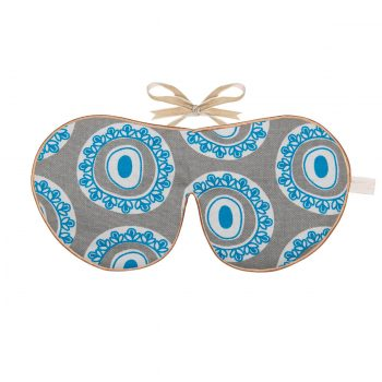 Tallentire House Eye Mask Byzantine Circle Blue