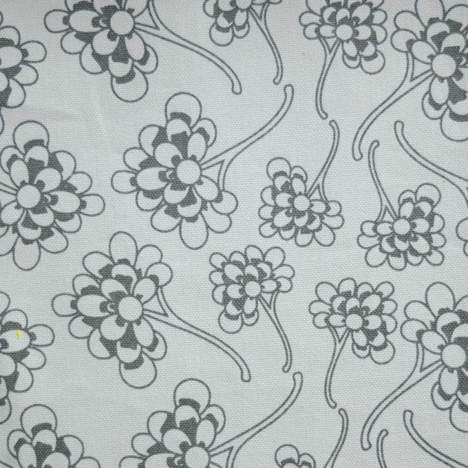 Tallentire House Fabrics Q1 Chinese Flower Wild Dove