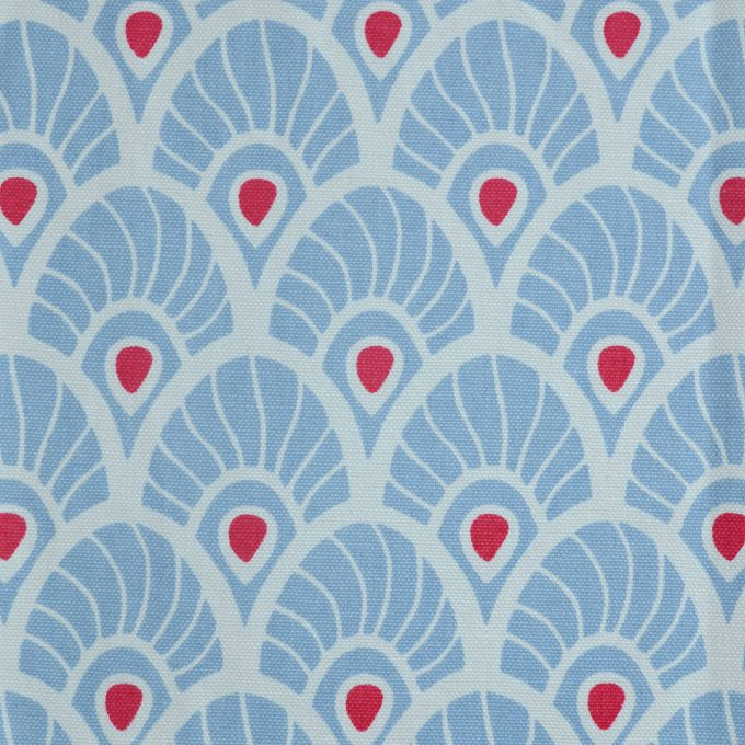 Tallentire House Fabrics Q1 Feather Forget Me Knot