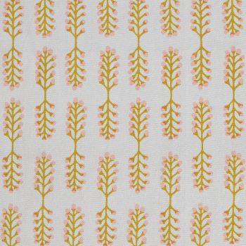 Tallentire House Fabrics Q1 Small Stem Oil Yellow Cameo Rose