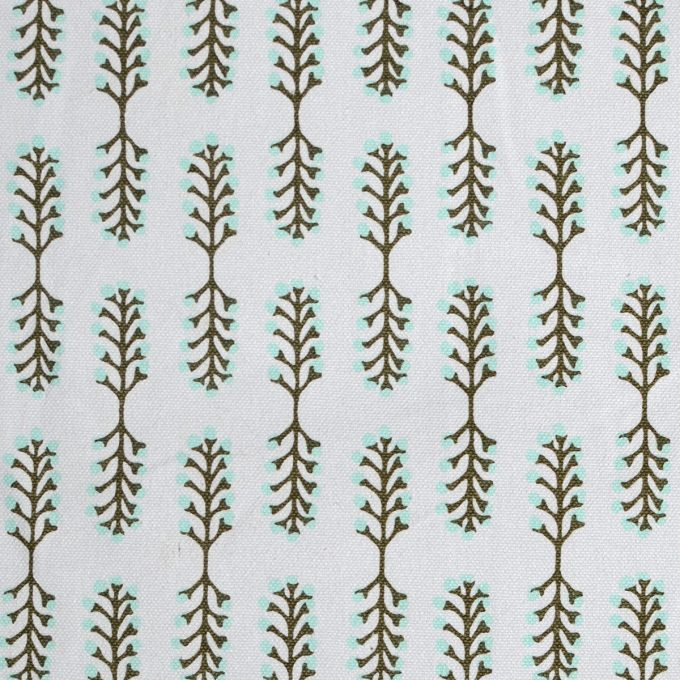 Tallentire House Fabrics Q1 Small Stem Vetiver