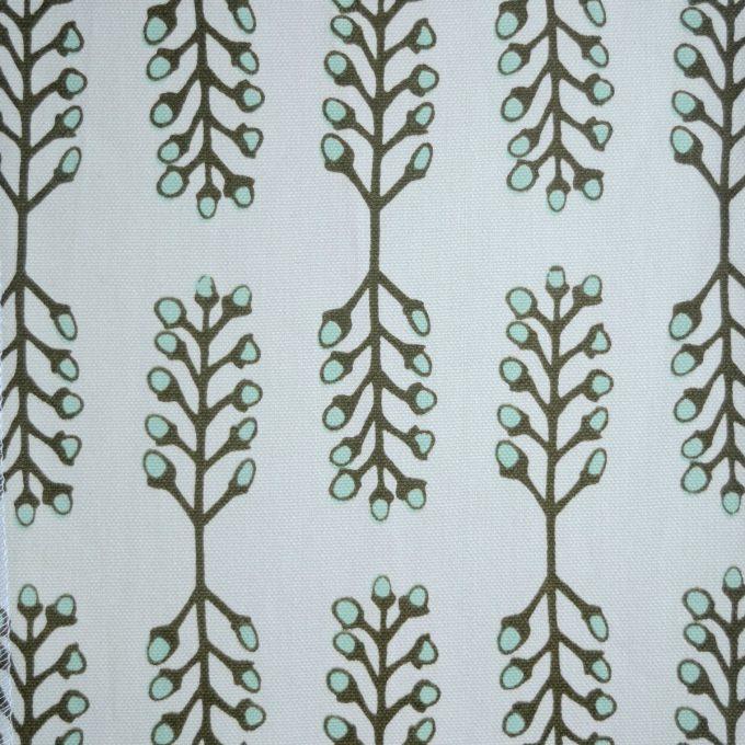 Tallentire House Fabrics Q1 Stem Vetiver