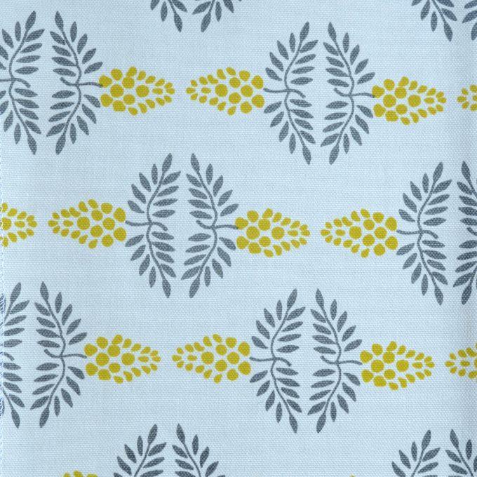 Tallentire House Fabrics Q1 Vine Citronella