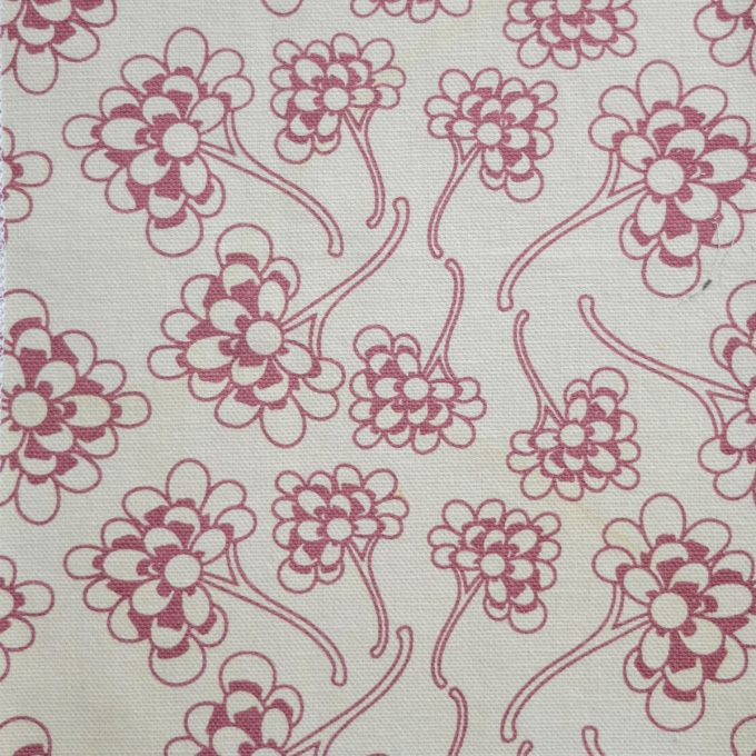 Tallentire House Fabrics Q2 Chinese Flower Nostalgic Pink