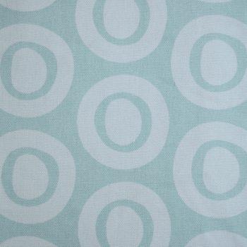 Tallentire House Fabrics Q2 Plain Circle Surfspray