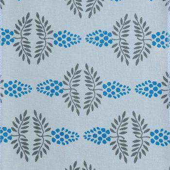 Tallentire House Fabrics Q2 Vine Blue