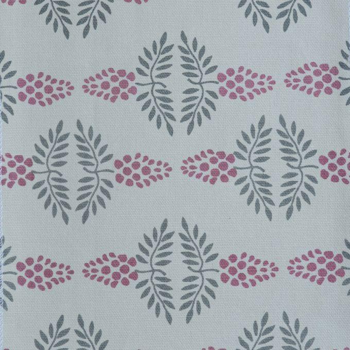 Tallentire House Fabrics Q2 Vine Nostalgic Pink