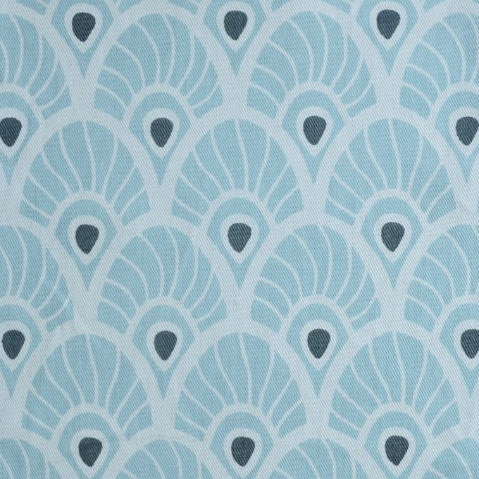 Tallentire House Fabrics Twill Feather Surfspray
