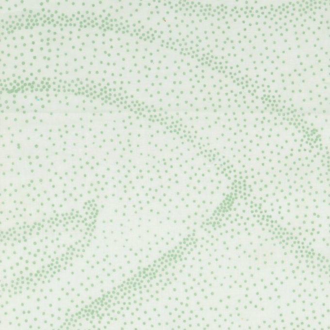 Tallentire House Fabrics Voile Dots Blue Blush Metal