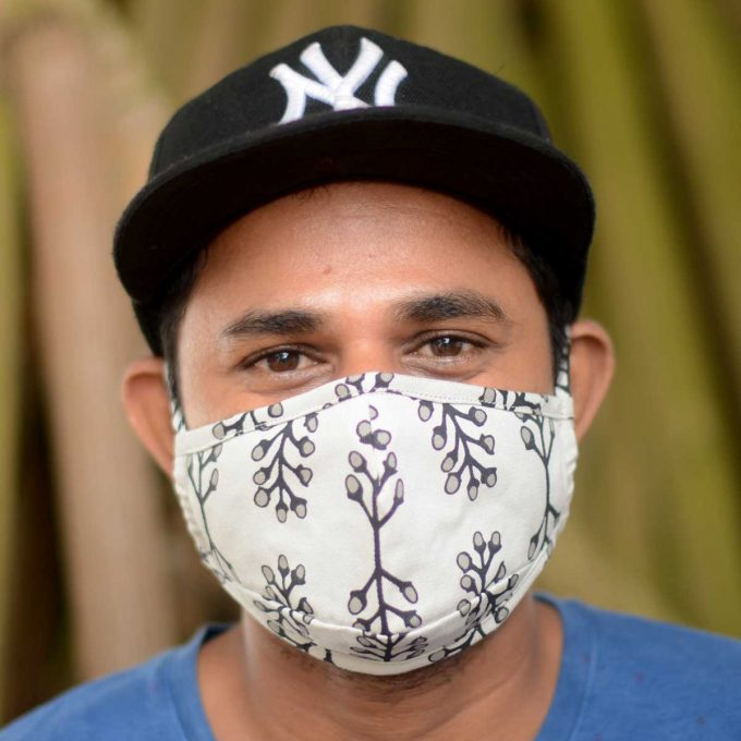 Tallentire House Face Mask Stem Stretch Limo Front Duminda with Cap