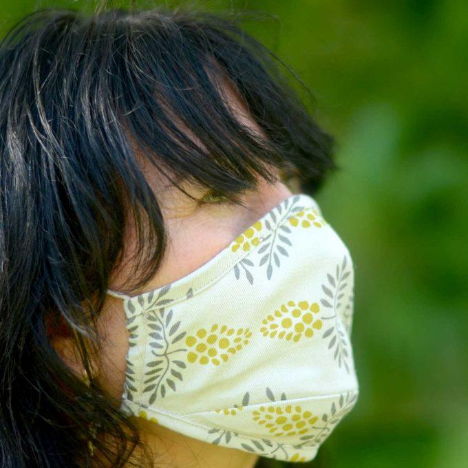 Tallentire House Face Mask Vine Citronella Side