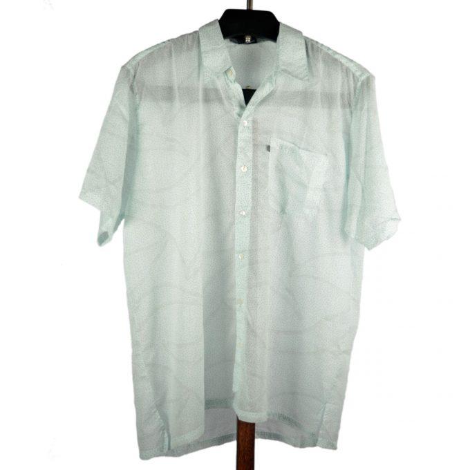 Tallentire House Man Shirt Dots Blue Blush Metal