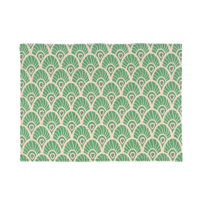 Tallentire House Placemat Feather Juniper