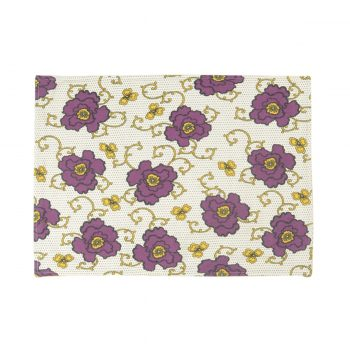 Tallentire House Placemat Russian Flower Grape Wine Oil Yellow