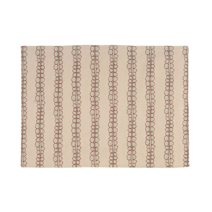 Tallentire House Placemat Seed Brunette