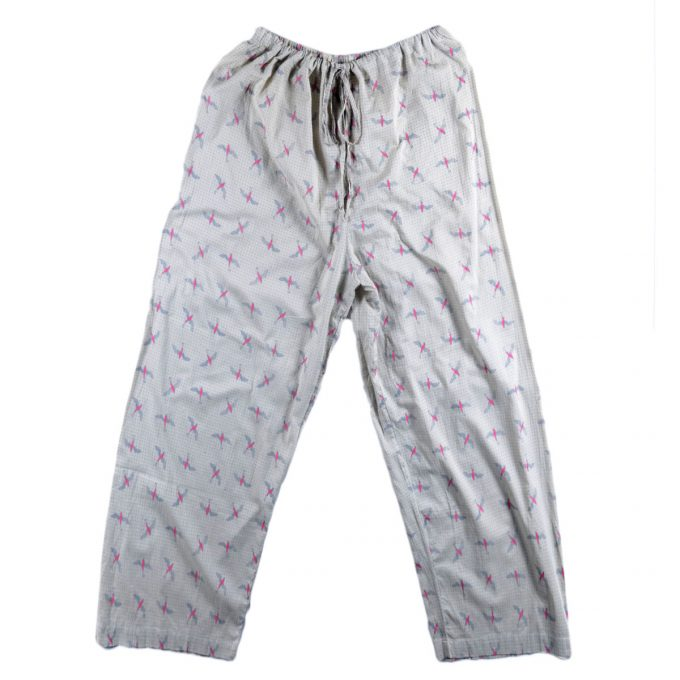 Tallentire House Pyjama Trousers Bird Bright Rose