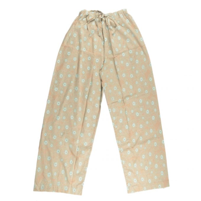 Tallentire House Pyjama Trousers Korean Flower Dusty Pink Barely Blue