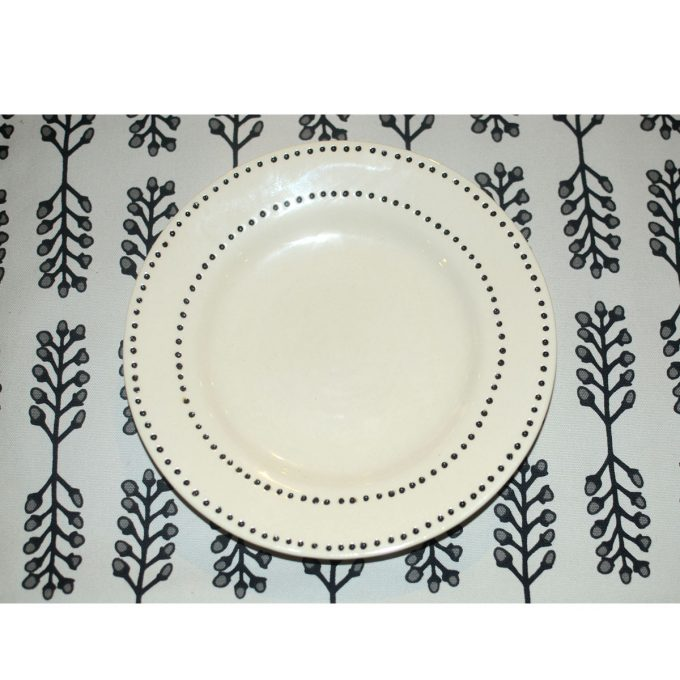 Tallentire House Side Plate on Stem Placemat