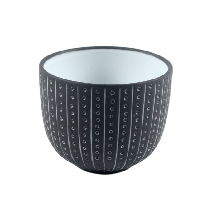 Tallentire House Tea Cup Urchin Black