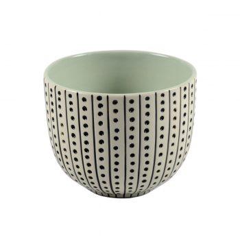 Tallentire House Tea Cup Urchin White Duck Egg