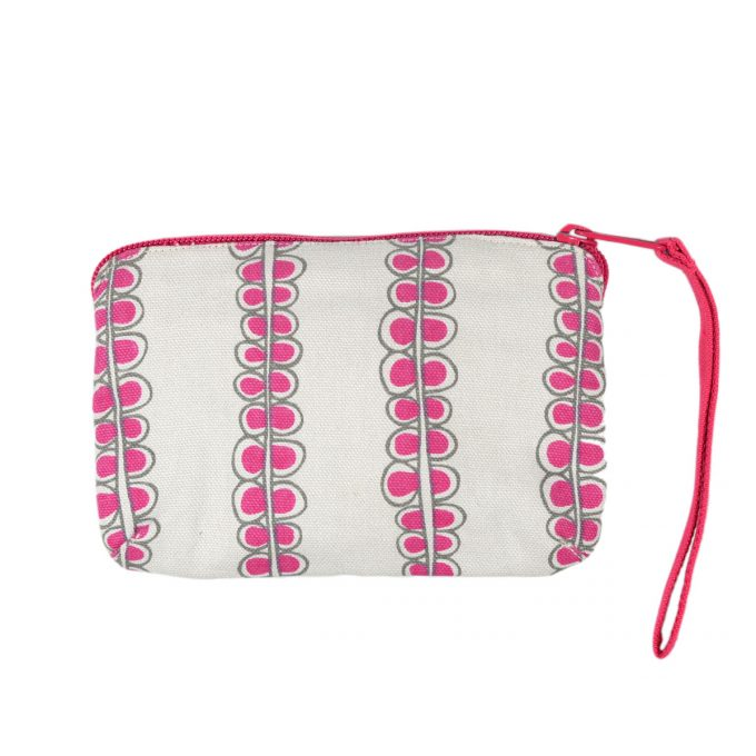 Tallentire House Travel Purse Seed Fuchsia Red