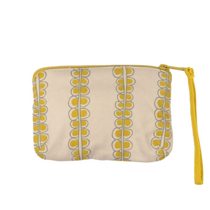 Tallentire House Travel Purse Seed Oil Yellow